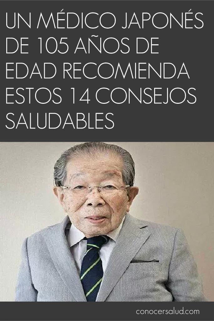 Un médico japonés de 105 años de edad recomienda estos 14 consejos saludables