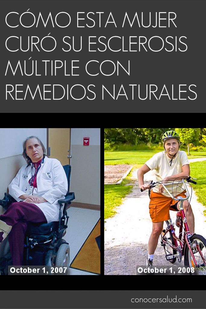 Cómo esta mujer curó su esclerosis múltiple con remedios naturales
