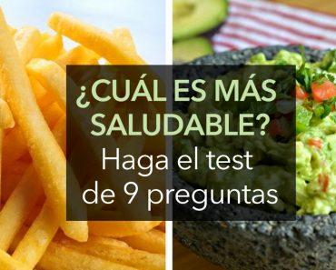 TEST: ¿Sabría decir cuál de estas comidas es más saludable?