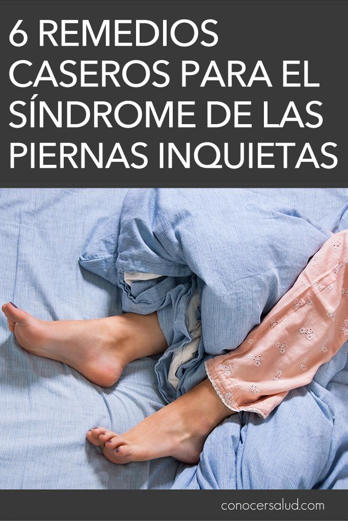 Tratamiento para el síndrome de las piernas inquietas: 6 Remedios caseros