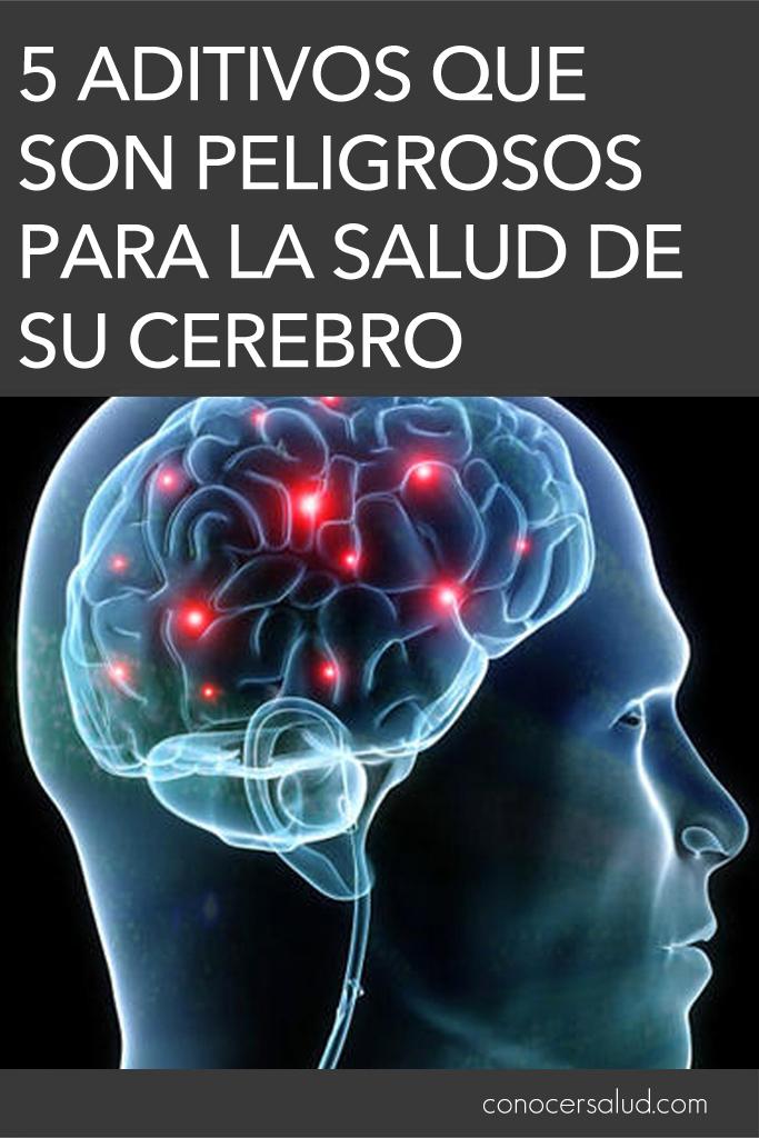 5 aditivos que son peligrosos para la salud de su cerebro