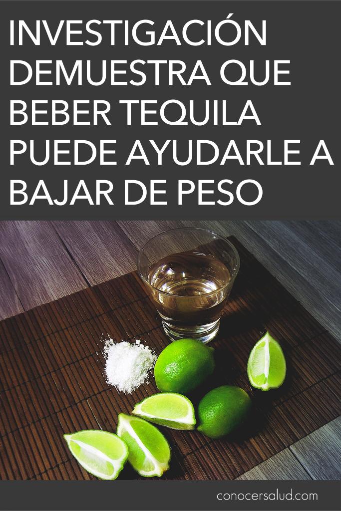 Una nueva investigación demuestra que beber tequila puede ayudarle a bajar de peso