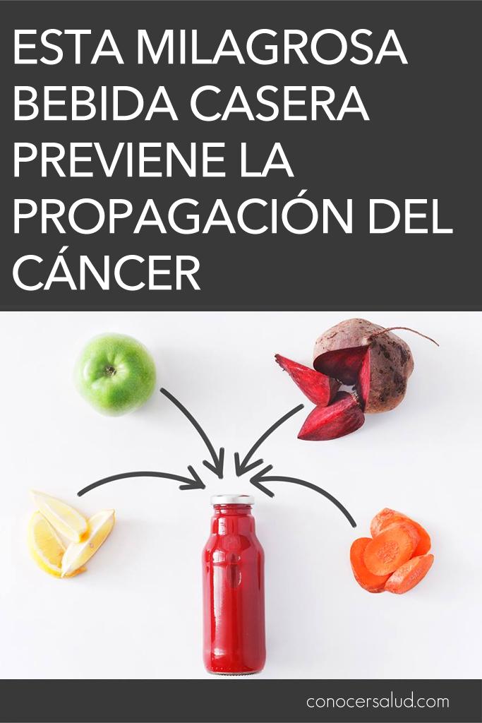 Esta milagrosa bebida casera previene la propagación del cáncer