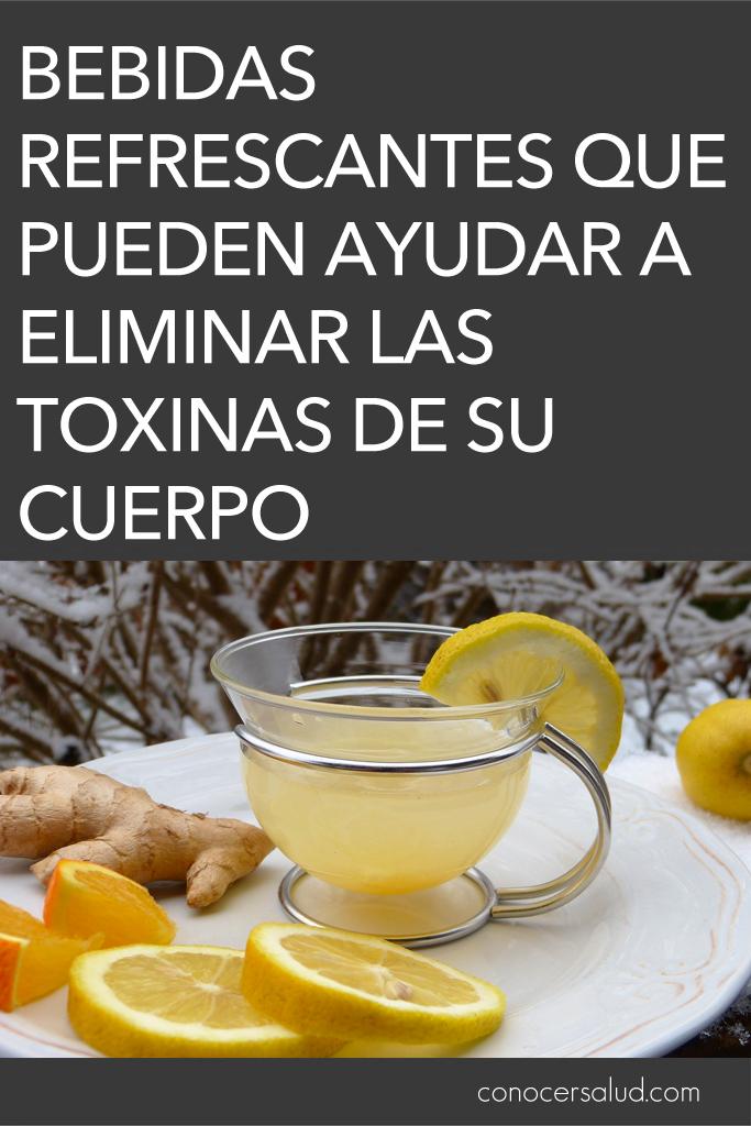 Bebidas refrescantes que pueden ayudar a eliminar las toxinas de su cuerpo