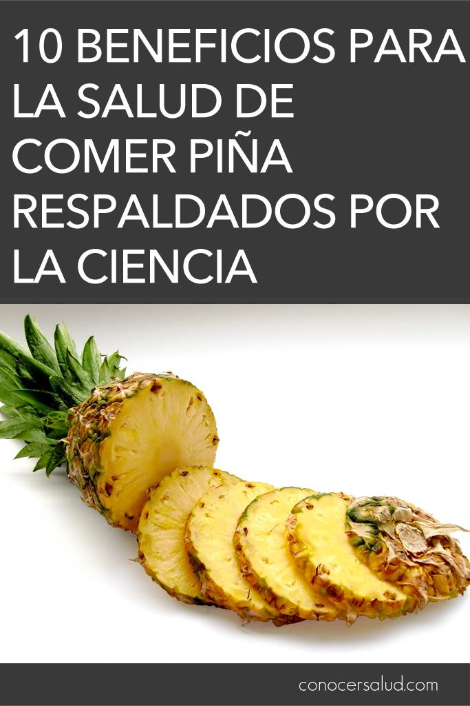 10 Beneficios para la salud de comer piña respaldados por la ciencia