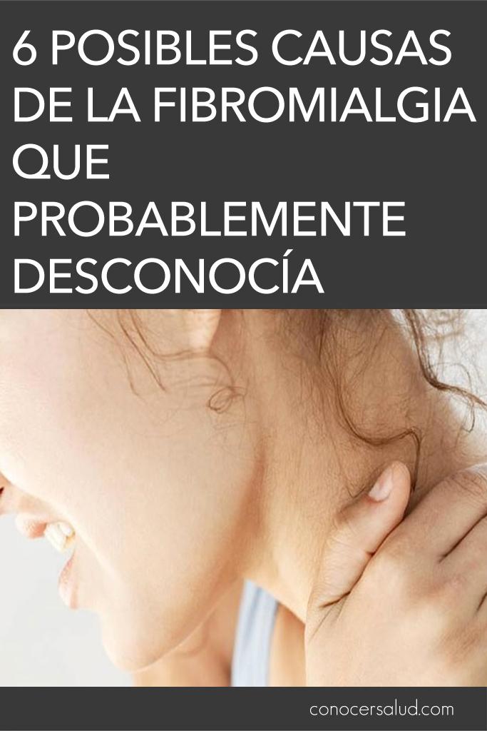6 Posibles causas de la fibromialgia que probablemente desconocía