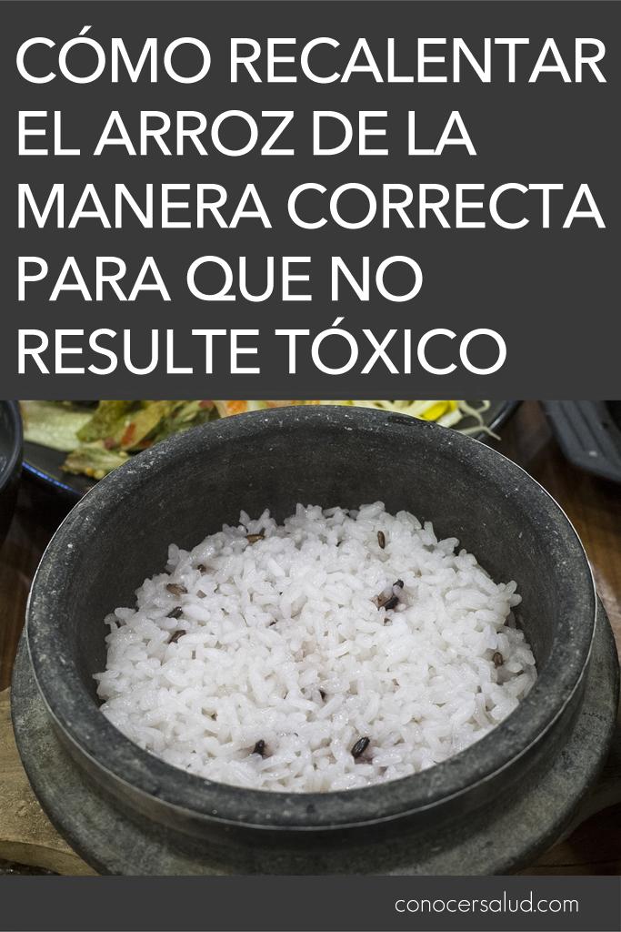 Cómo recalentar el arroz de la manera correcta para que no resulte tóxico