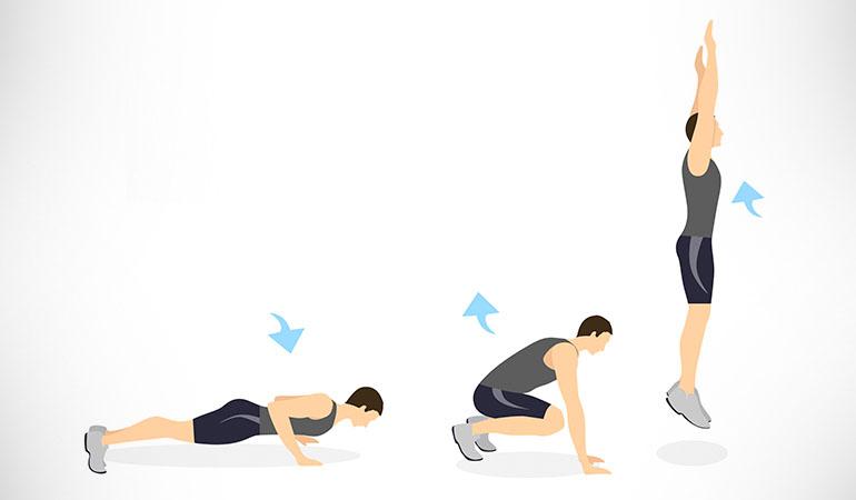 6 ejercicios simples pero eficaces para quemar el exceso de grasa