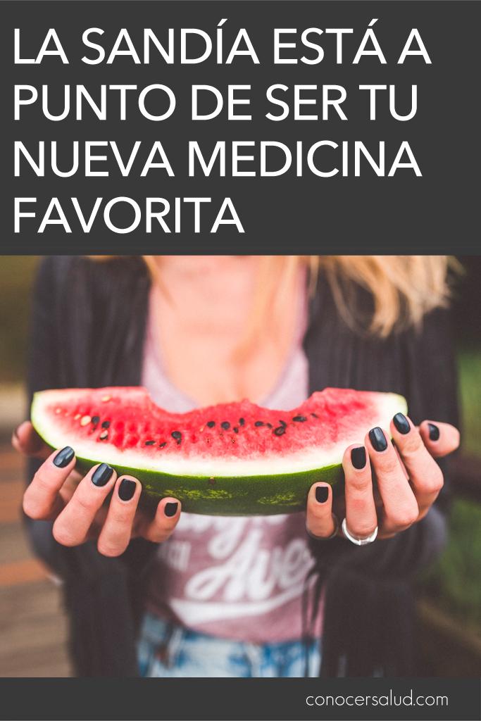 La sandía está a punto de ser tu nueva medicina favorita