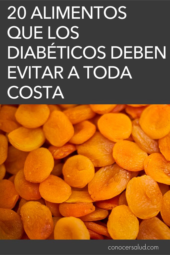 20 alimentos que los diabéticos deben evitar a toda costa