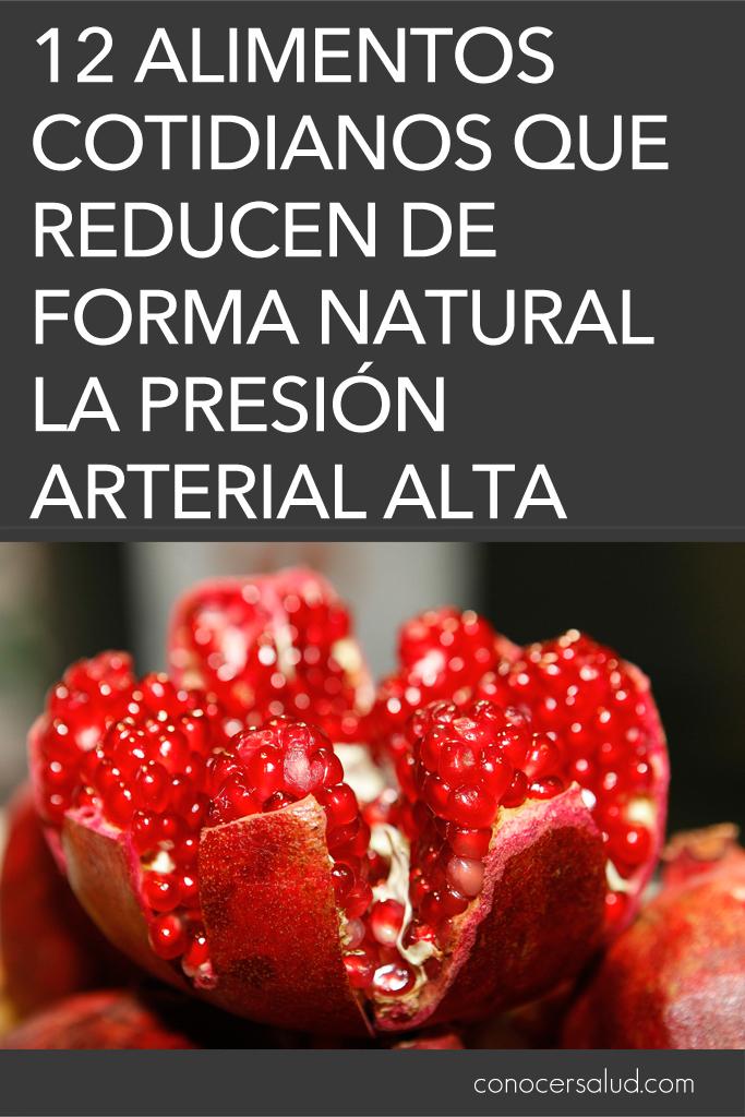 12 alimentos cotidianos que reducen de forma natural la - Alimentos para la hipertension alta ...