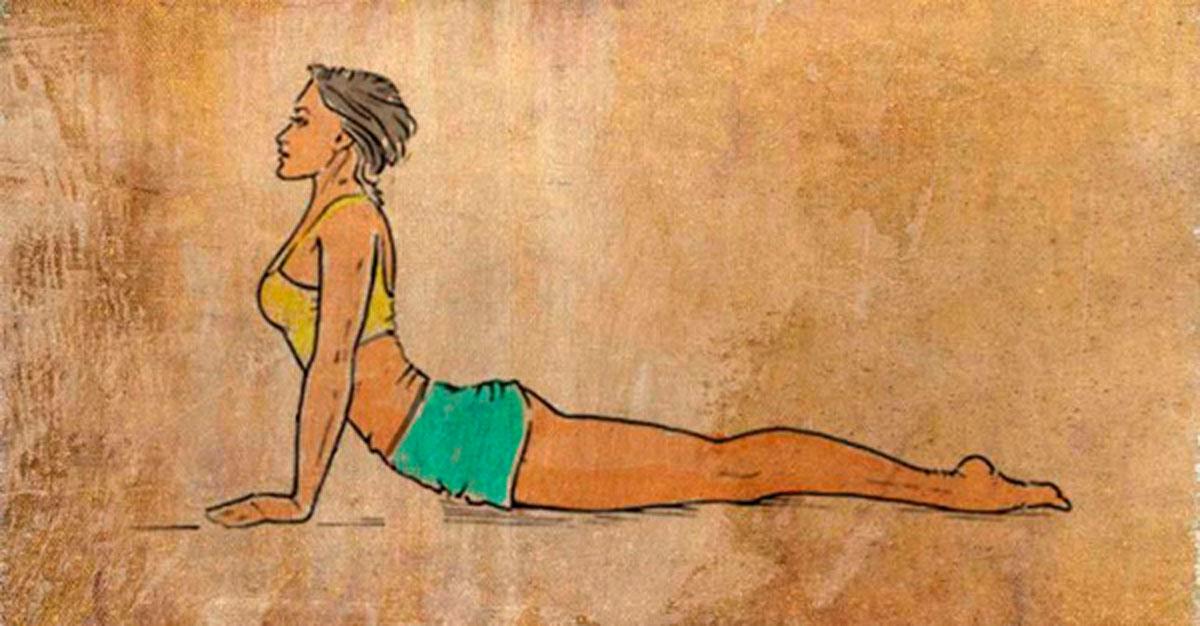 8 ejercicios asombrosos para deshacerse de la grasa de la espalda