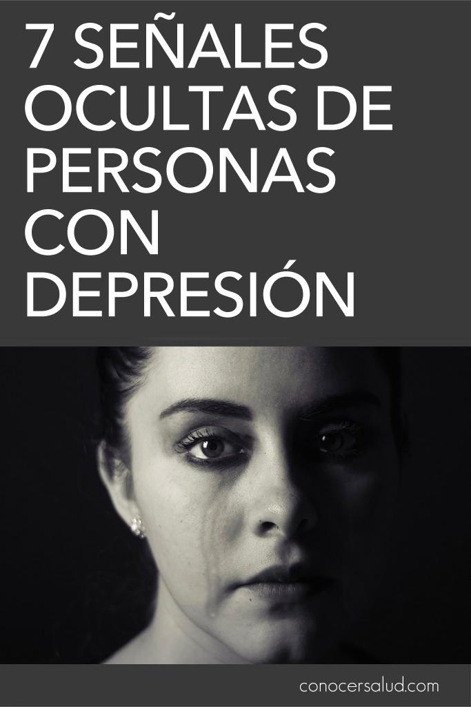 7 Señales ocultas de personas con depresión