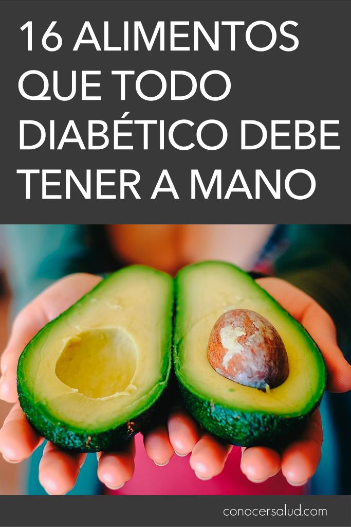 16 alimentos que todo diabético debe tener a mano