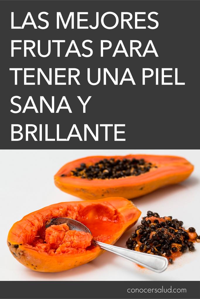 Las mejores frutas para tener una piel sana y brillante