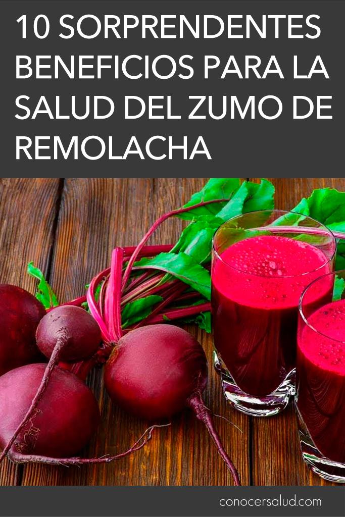 10 sorprendentes beneficios para la salud del zumo de remolacha