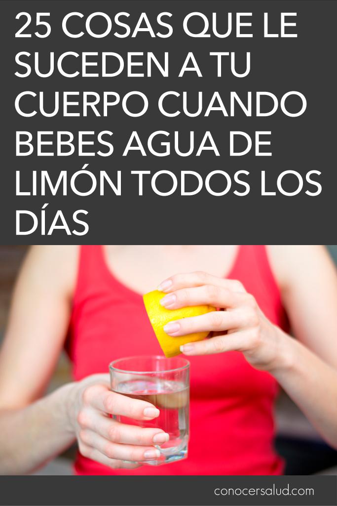 25 Cosas que le suceden a tu cuerpo cuando bebes agua de limón todos los días