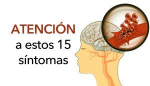 Prevenga un derrame cerebral: 15 síntomas de apoplejía que nunca hay que pasar por alto
