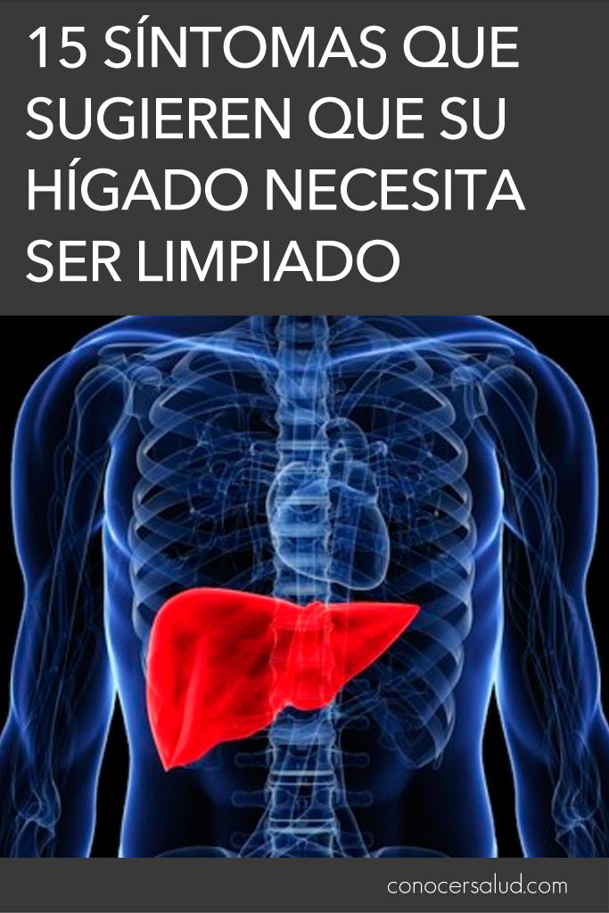 15 síntomas que sugieren que su hígado necesita ser limpiado