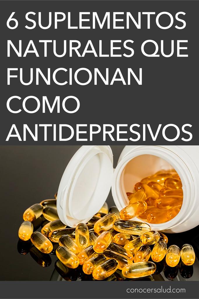 6 suplementos naturales que funcionan como antidepresivos