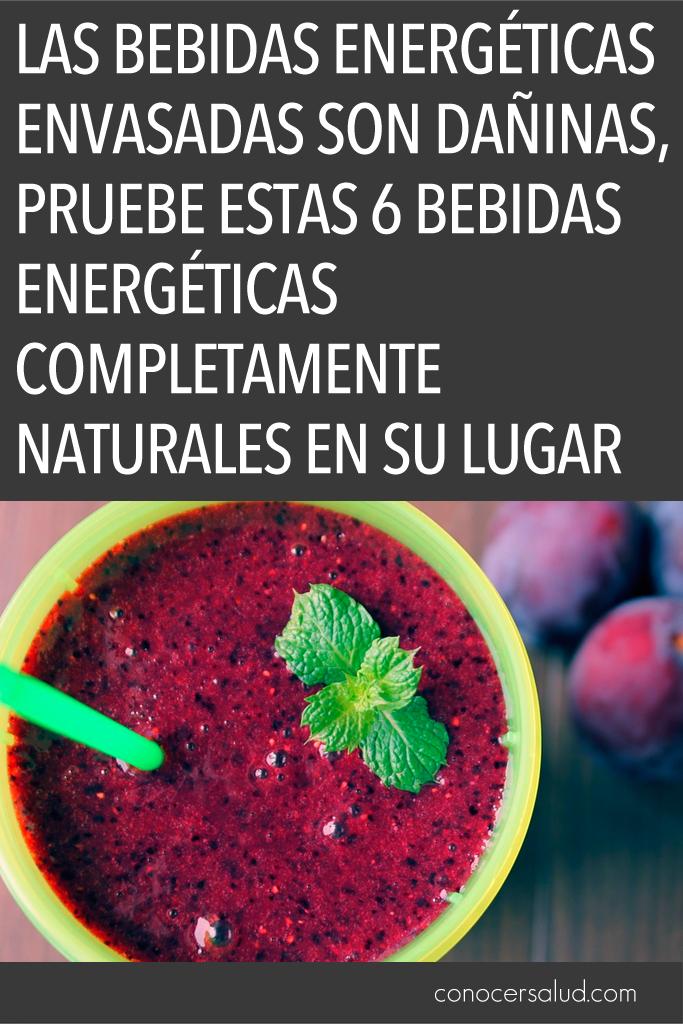Las bebidas energéticas envasadas son dañinas, pruebe estas 6 bebidas energéticas completamente naturales en su lugar