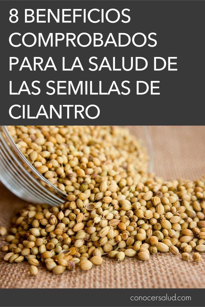 8 beneficios comprobados para la salud de las semillas de cilantro