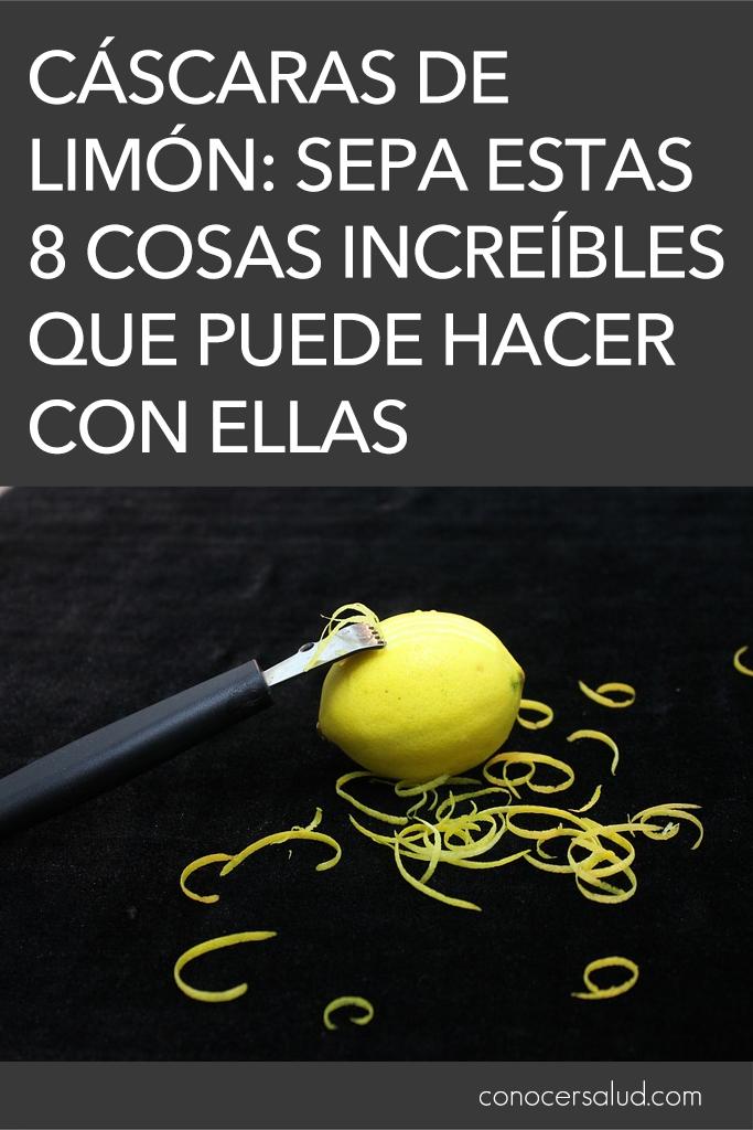 Sobras de cáscaras de limón: Sepa estas 8 cosas increíbles que puede hacer con ellas