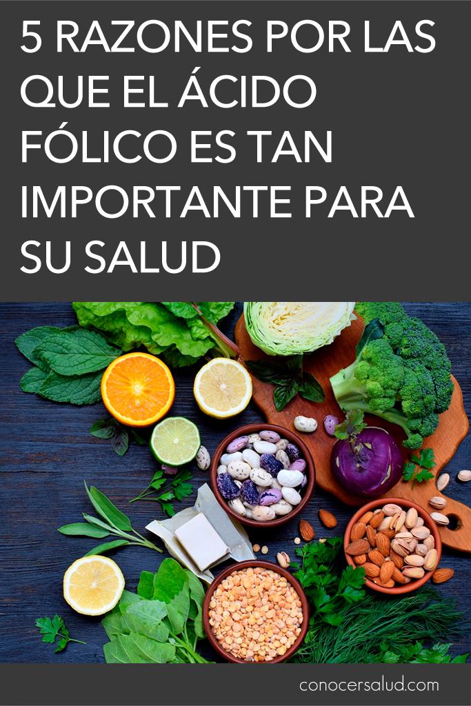5 razones por las que el ácido fólico es tan importante para su salud