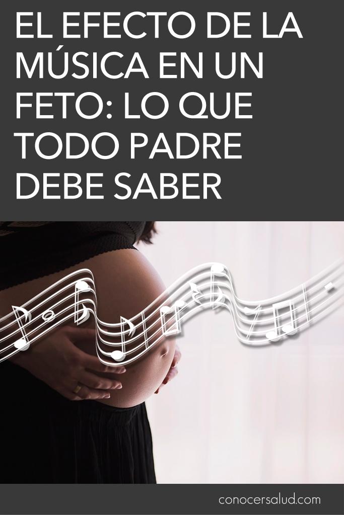 El efecto de la música en un feto: Lo que todo padre debe saber