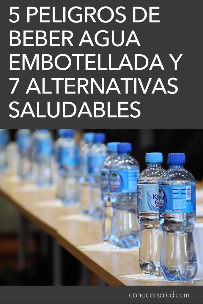 5 peligros de beber agua embotellada y 7 alternativas saludables