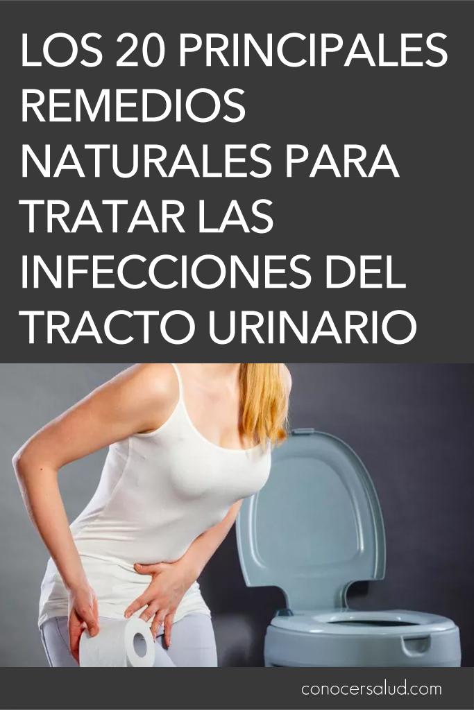 Los 20 principales remedios naturales para tratar las infecciones del tracto urinario (ITU)