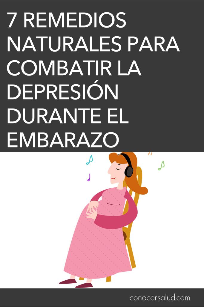 7 remedios naturales para combatir la depresión durante el embarazo