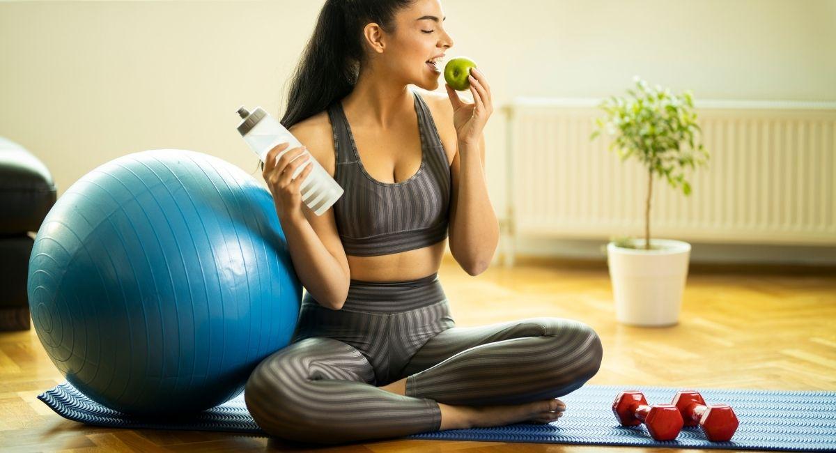 ¿Qué hay que comer antes de hacer ejercicio?