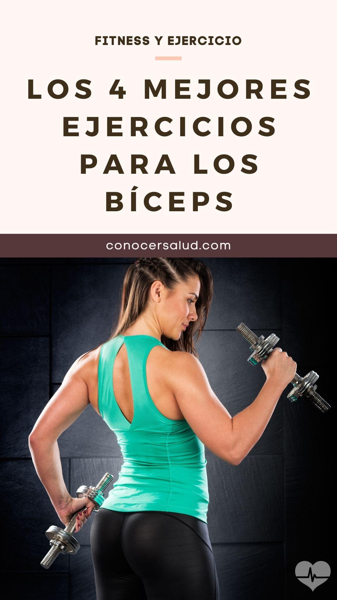 Los 4 mejores ejercicios para los bíceps